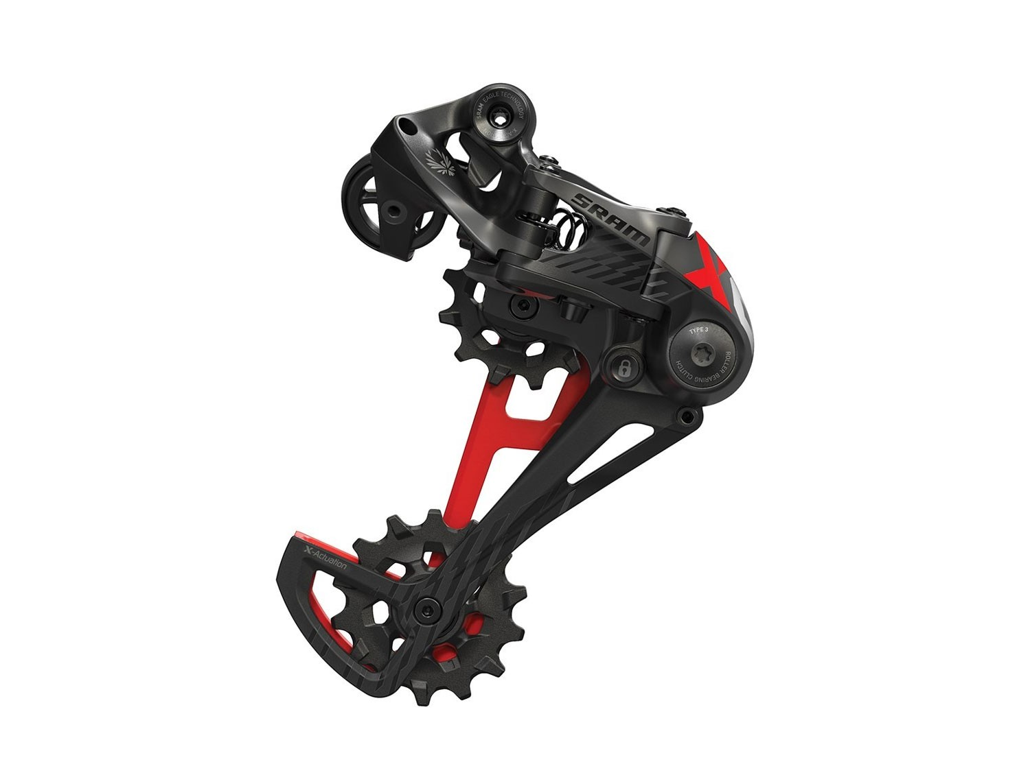 SRAM X01 EAGLE CARBON RED 12-Speed