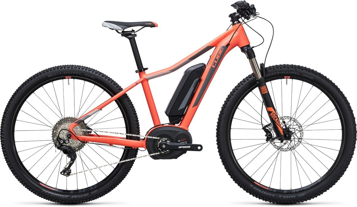CUBE electric bikes ACCESS WLS HYBRID RACE 500 (orange) 29 2017