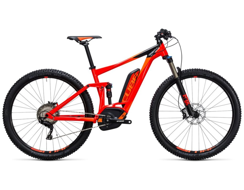 STEREO HYBRID 120 HPA RACE red