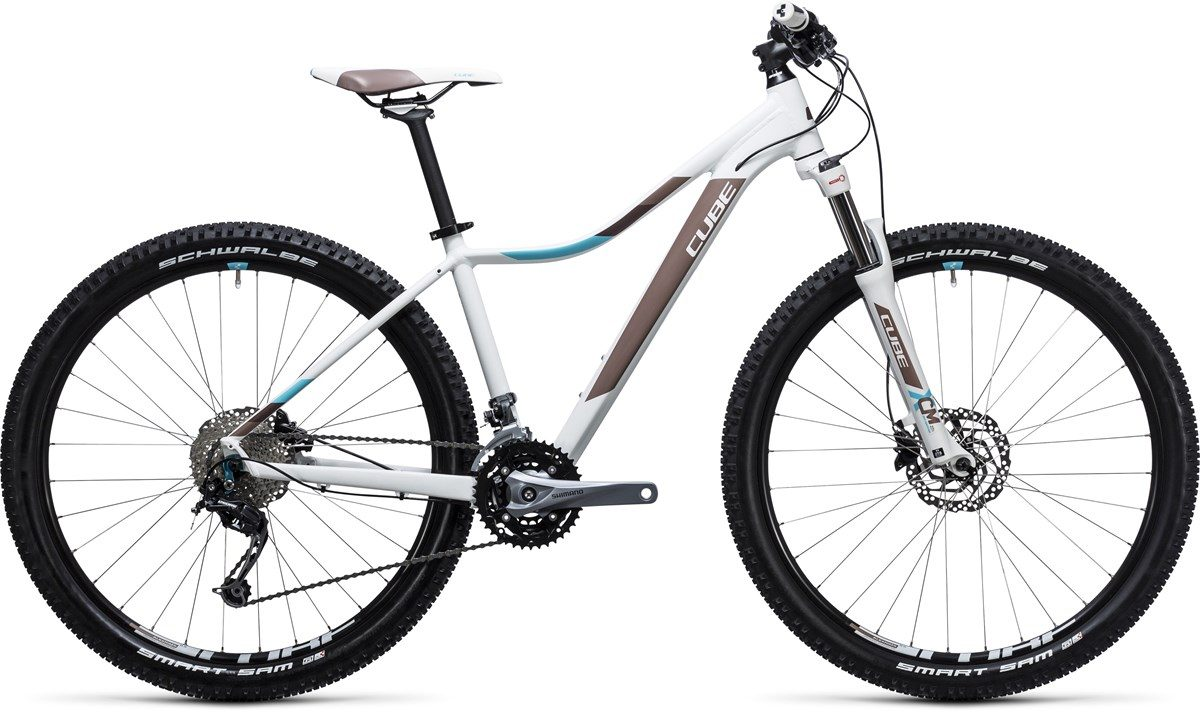 CUBE ACCESS WLS PRO (white & blue) 27.5 2017