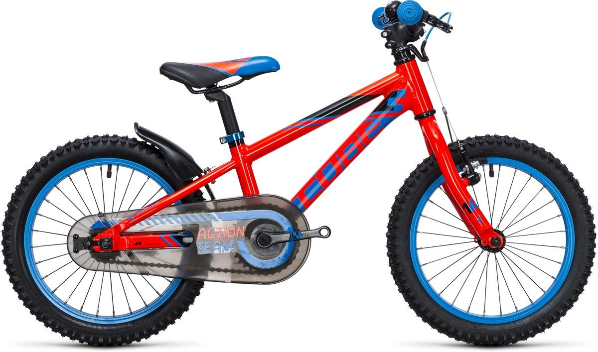CUBE KID 160 BIKE (blue & red) 2017