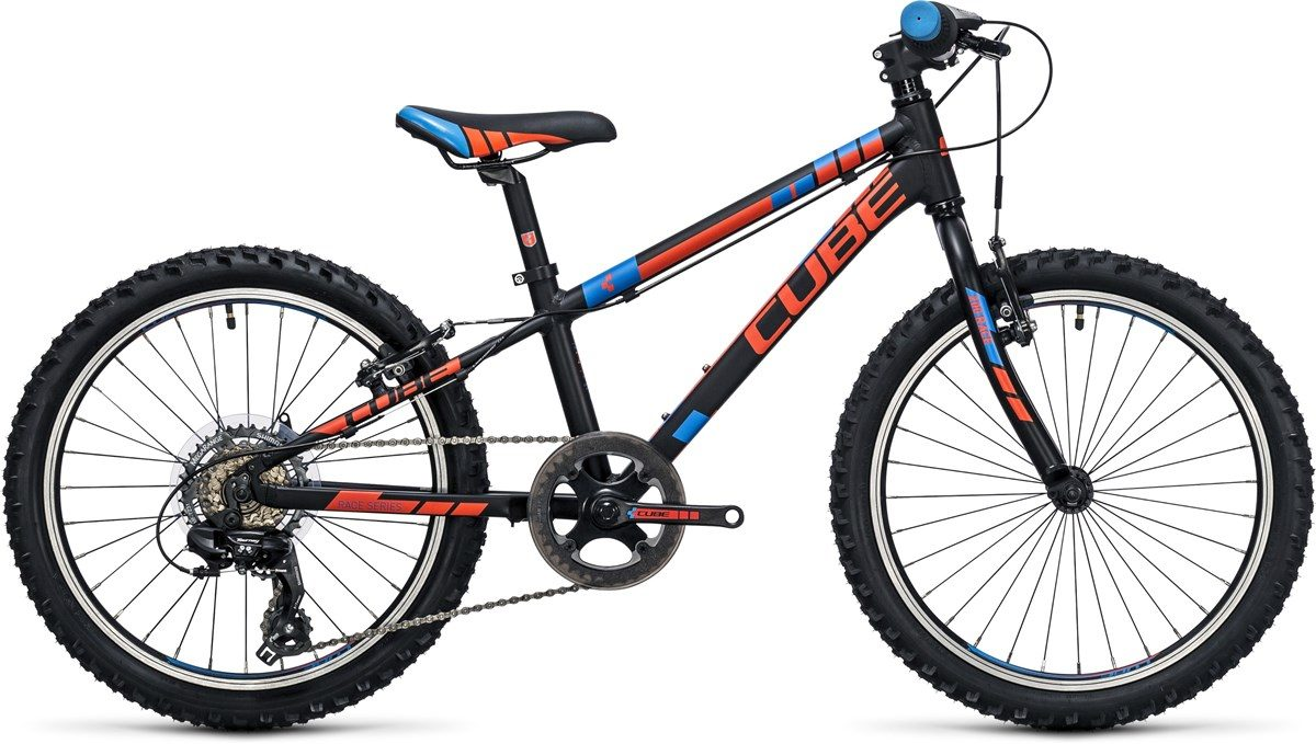 CUBE KID 200 BIKE (black, orange & blue) 2017