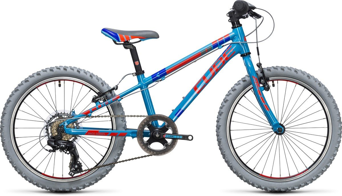 CUBE KID 200 BIKE (red & blue) 2017