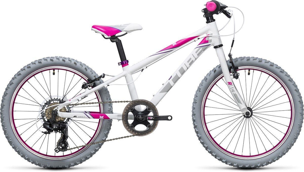 CUBE KID 200 BIKE (white & pink) 2017