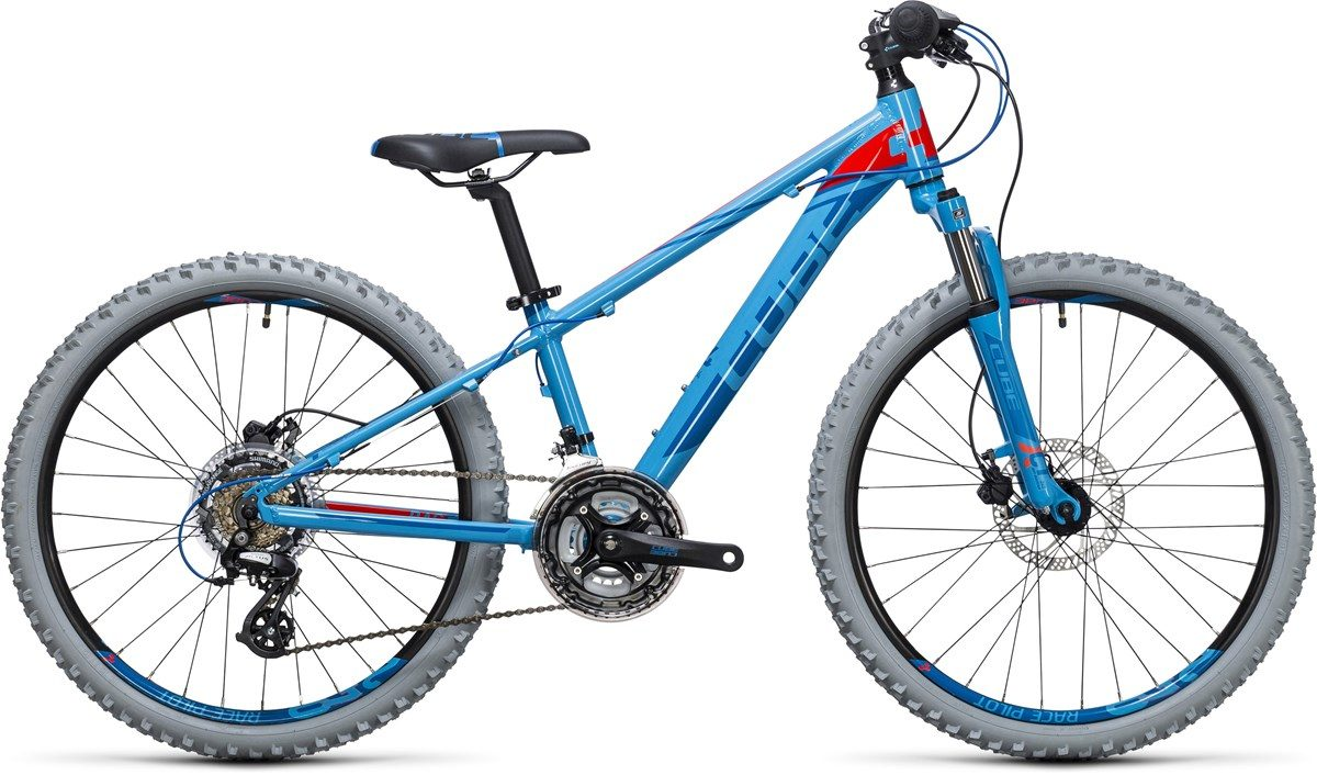cube kids bike disc 240 blue