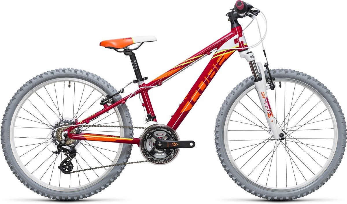CUBE KID 240 BIKE (red & orange) 2017