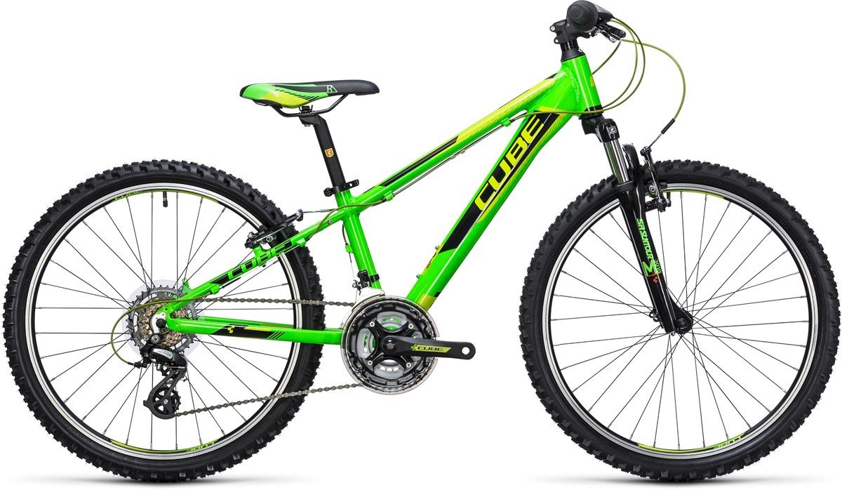CUBE KID 240 BIKE (green & black) 2017