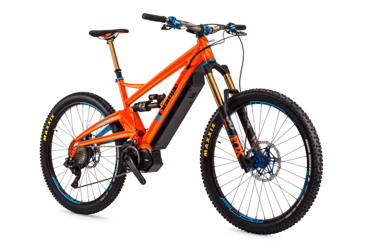 orange alpine 6 e le electric bike 2018