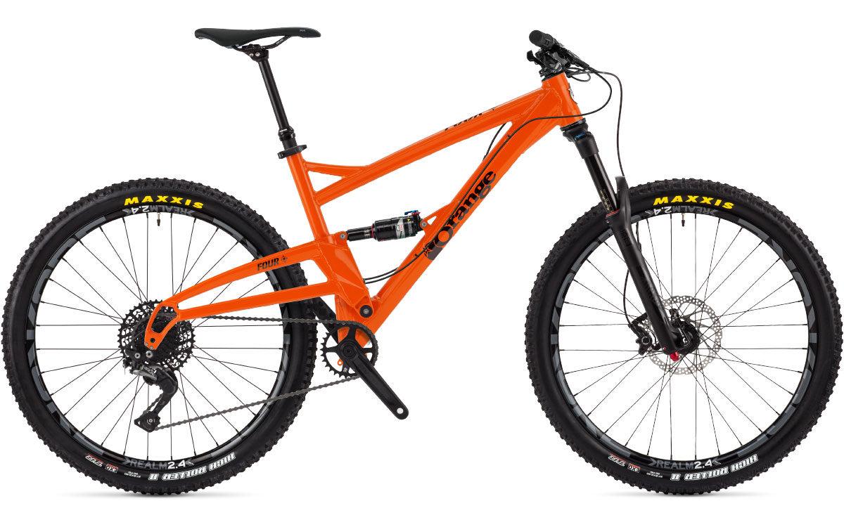 orange four s 2018