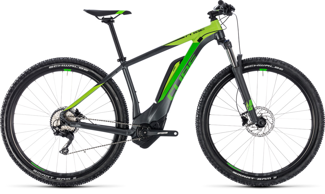 CUBE REACTION HYBRID PRO 500 2018 GREY GREEN