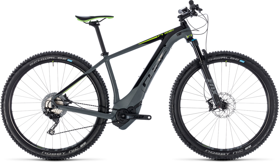 CUBE REACTION HYBRID SLT 500 2018 grey