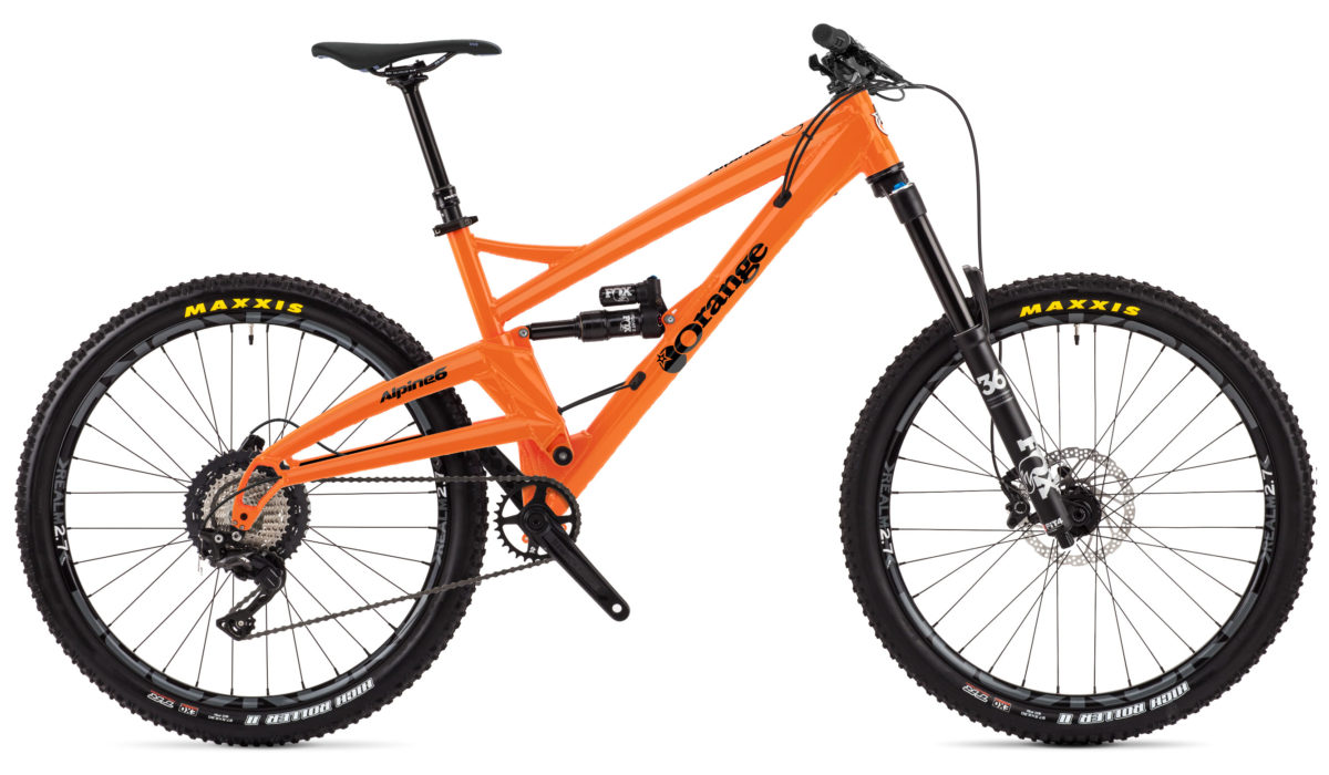 ORANGE ALPINE 6 PRO 2018