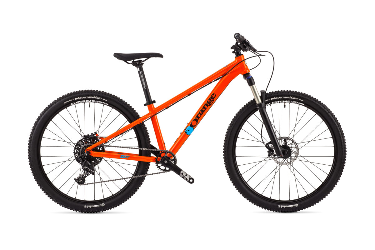 Orange mountain bikes give you the ZEST 26 2018 Bike