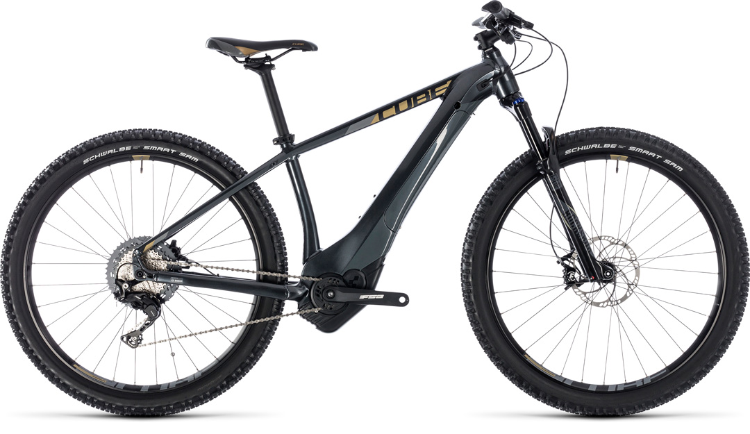 CUBE ACCESS HYBRID SL 500 2018 black gold