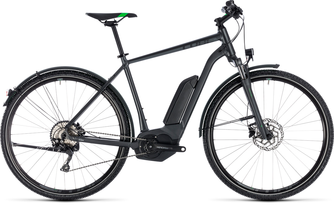 CUBE CROSS HYBRID PRO ALLROAD 500 2018 grey mens