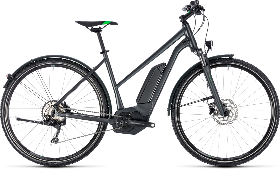 CUBE CROSS HYBRID PRO ALLROAD 500 2018 grey
