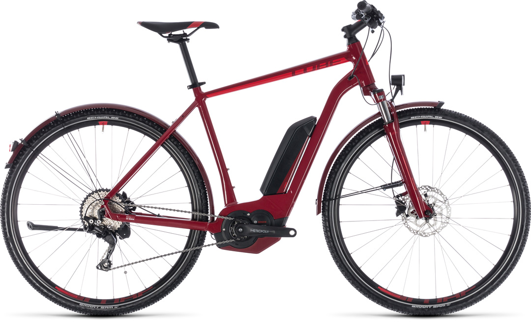 CUBE CROSS HYBRID PRO ALLROAD 500 2018 men