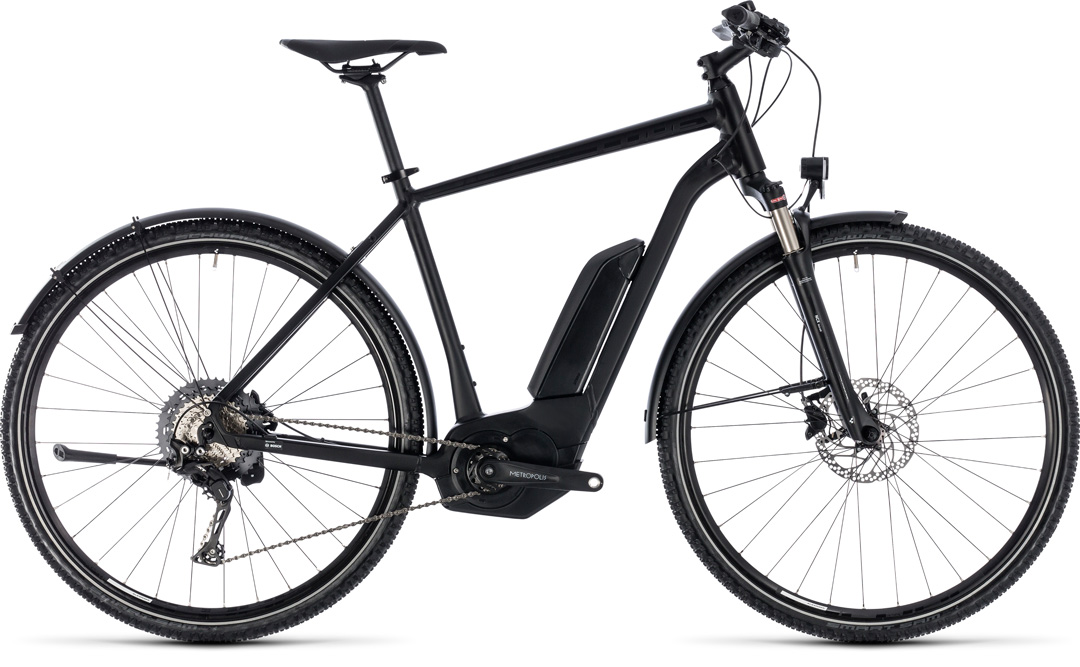 CUBE CROSS HYBRID RACE ALLROAD 500 2018 black men