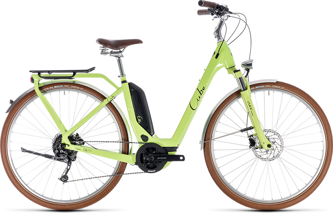 CUBE ELLY RIDE HYBRID 500 2018 green