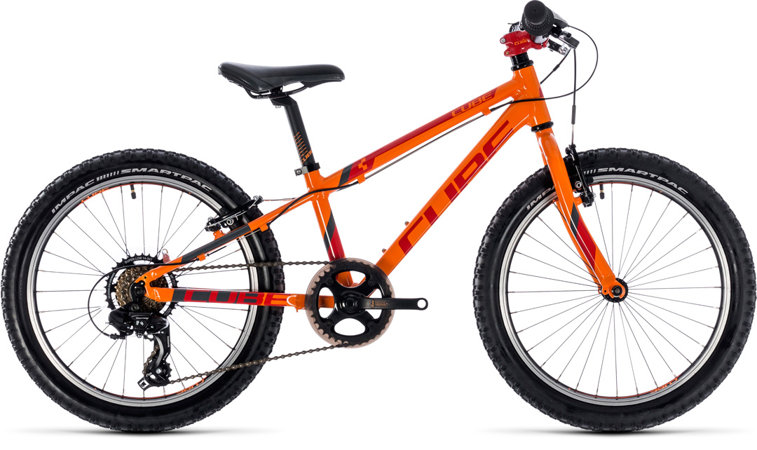 CUBE KID 200 2018 orange red