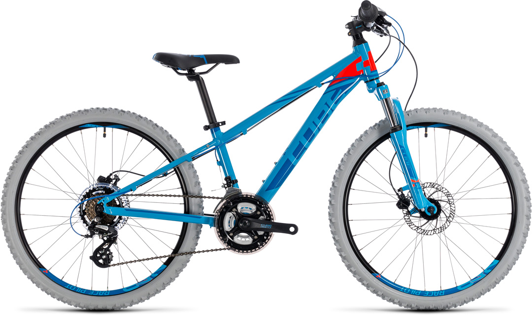 CUBE KID 240 DISC 2018 blue red