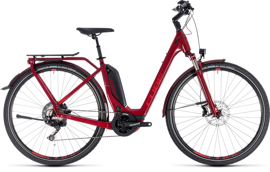 CUBE TOURING HYBRID EXC 500 2018 easy entry
