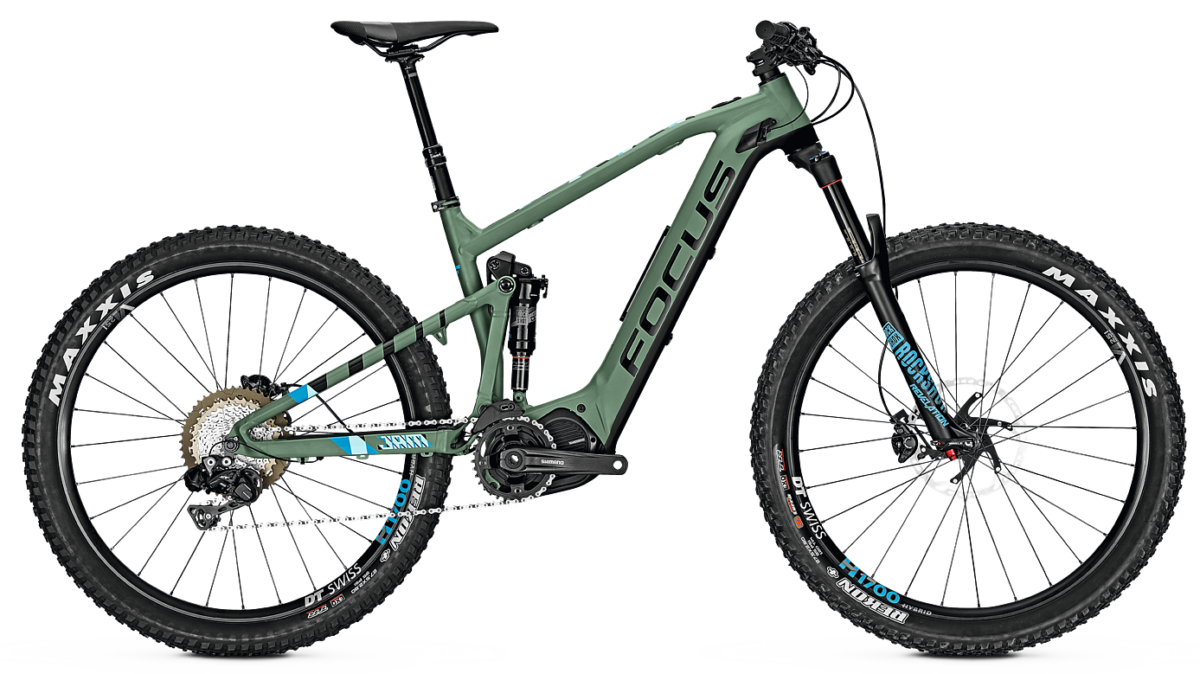 FOCUS JAM² PLUS PRO 27.5+ 2018 green