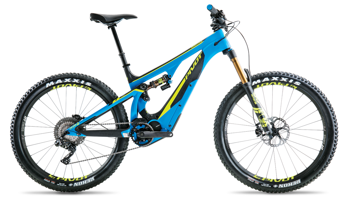 PIVOT SHUTTLE 27.5+ 2018 SHIMANO ELECTRIC BIKE