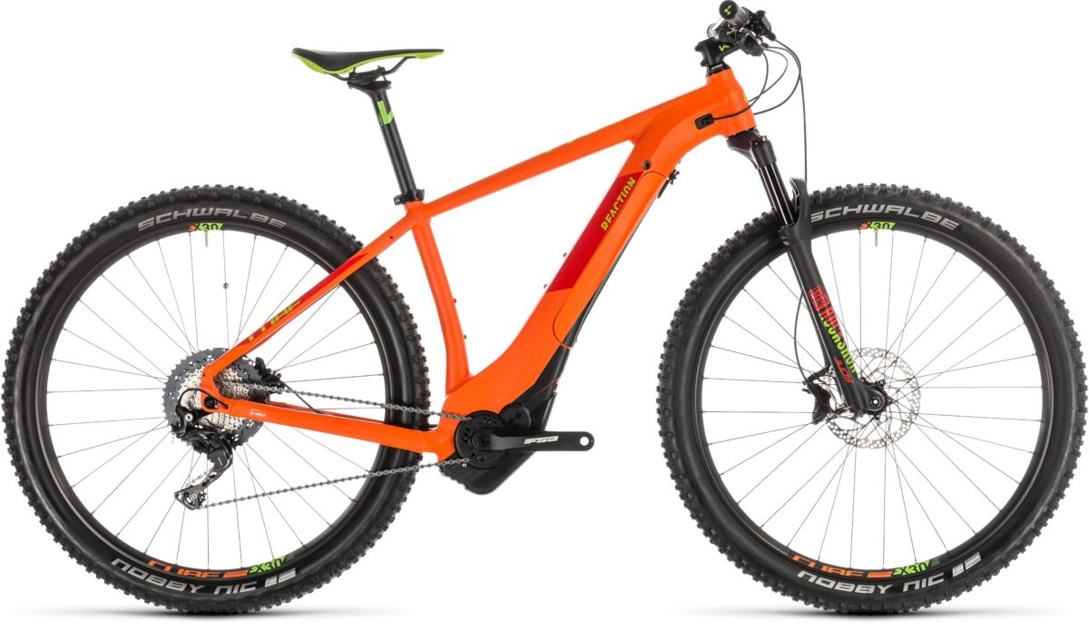 CUBE REACTION HYBRID SL 500 KIOX 27.5 2019