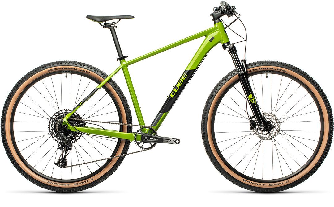 CUBE ANALOG 29 2021 green